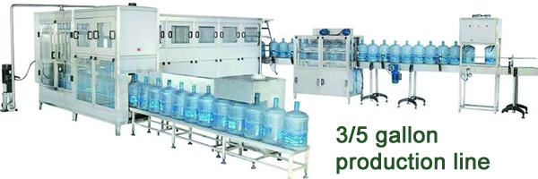 5 gallon production line