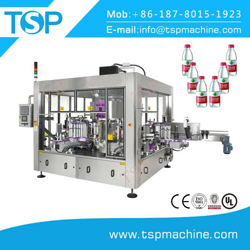 rotary opp labeling machine for square bottles