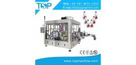 Rotary Hot Melt Glue Labeling Machine for